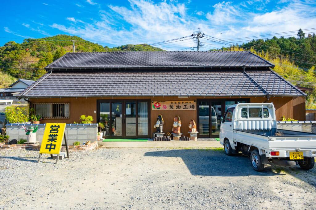 Chez Imamura producteurs d'huile de camélia