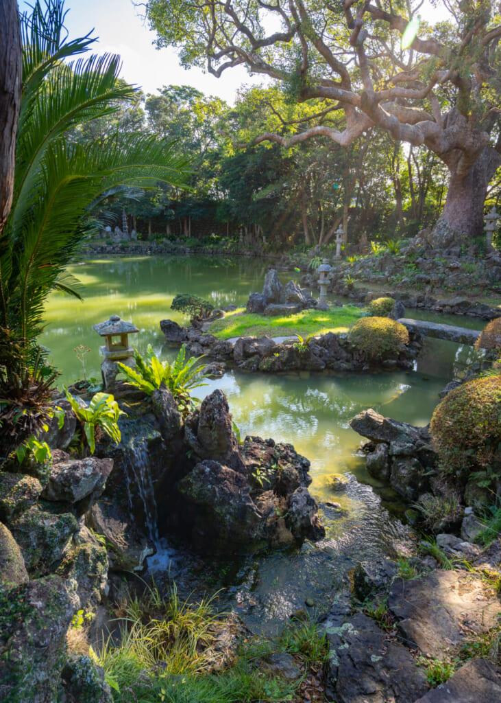 Jardin de la résidence Gotoshi