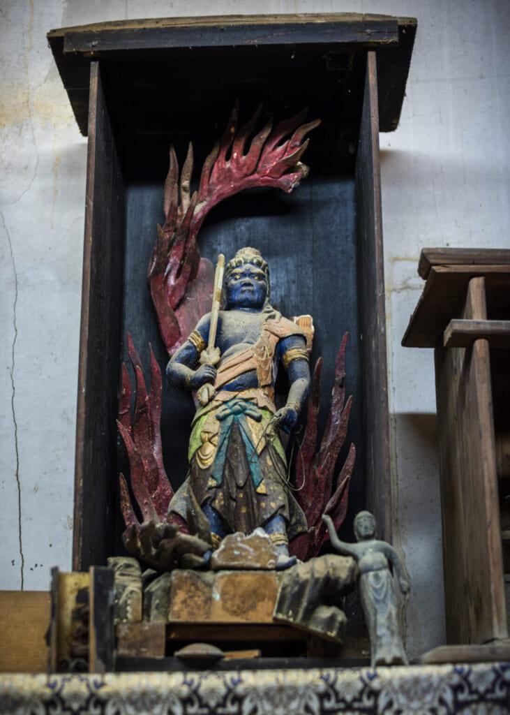 Statue de Fudo-myoo