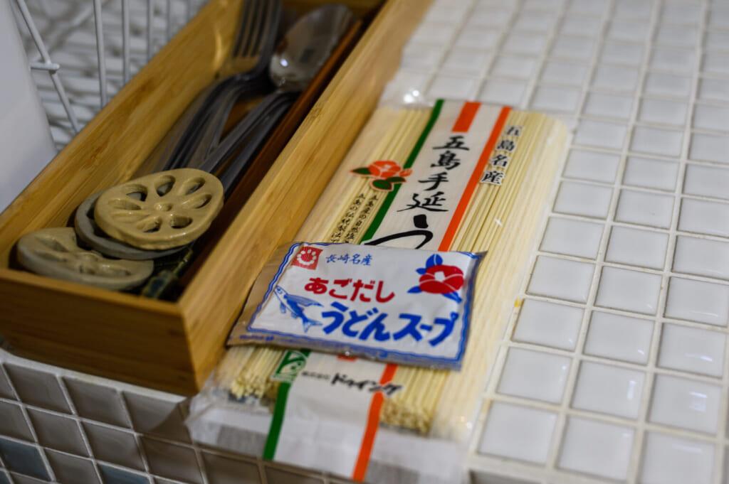 Paquet de nouilles udon des îles Goto