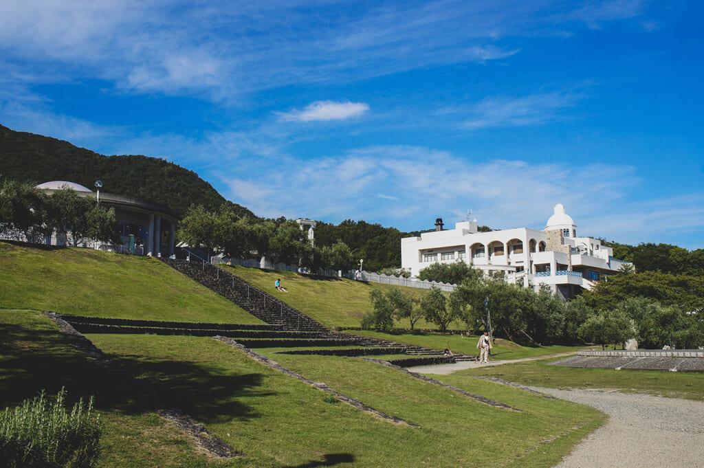 Vue du Shodoshima Olive Park