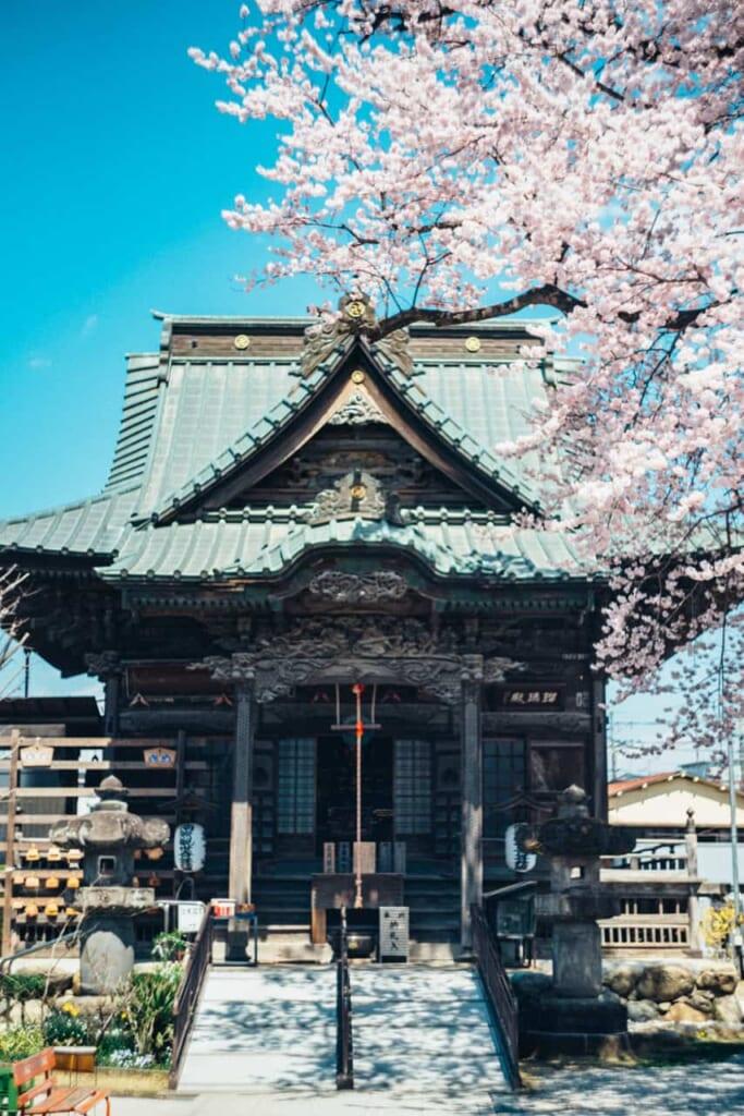 Temple du pèlerinage de Chichibu