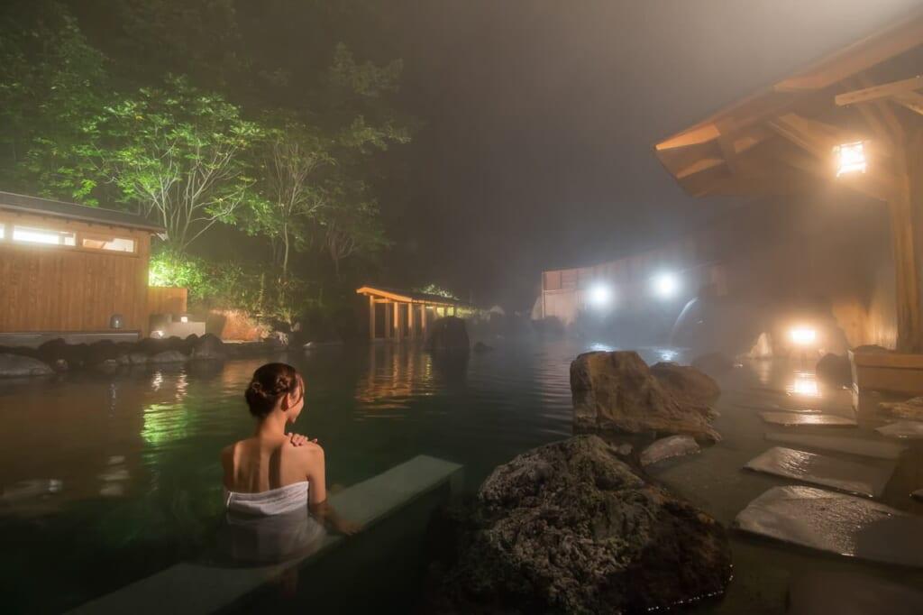 Kusatsu Onsen, un lieu de calme et de détente