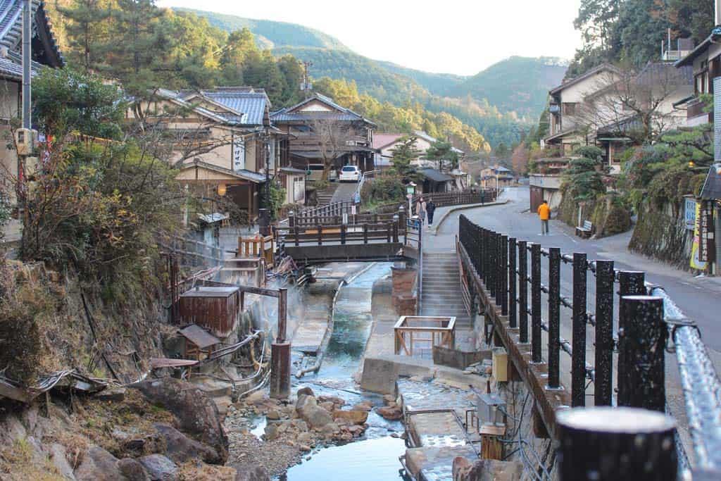 Yunomine Onsen le long du Kumano Kodo