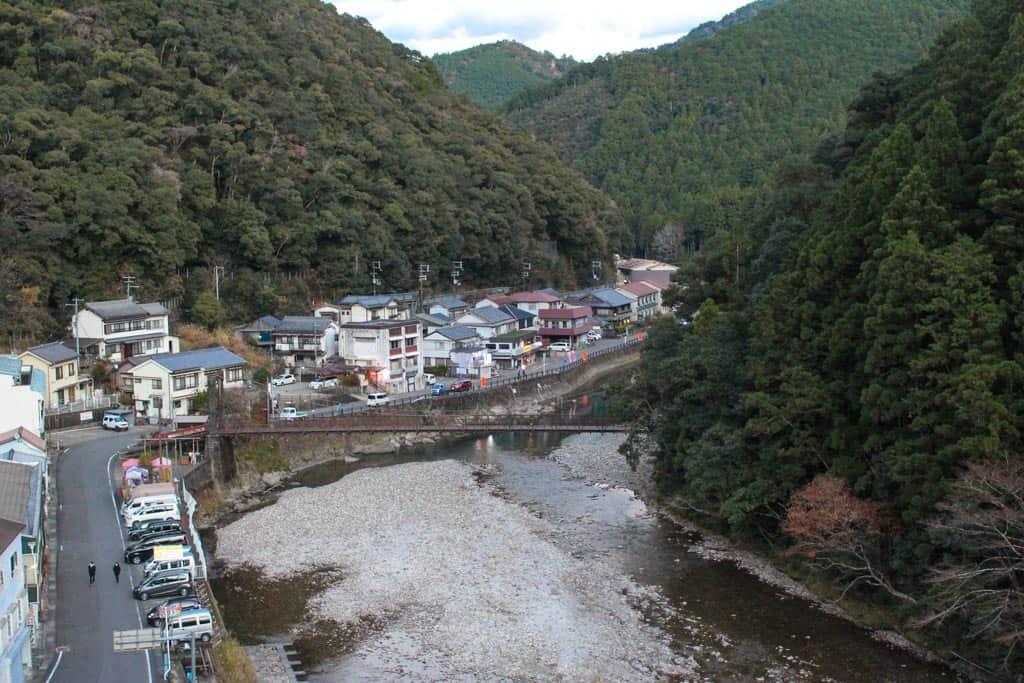 petite ville onsen au Japon