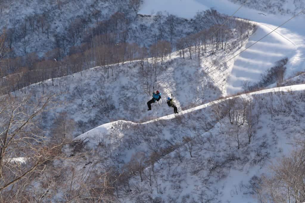 sports d'hiver au Japon