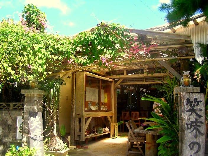 petite maison traditionnelle à Okinawa