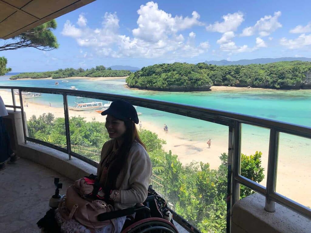 la baie de kabira à Okinawa