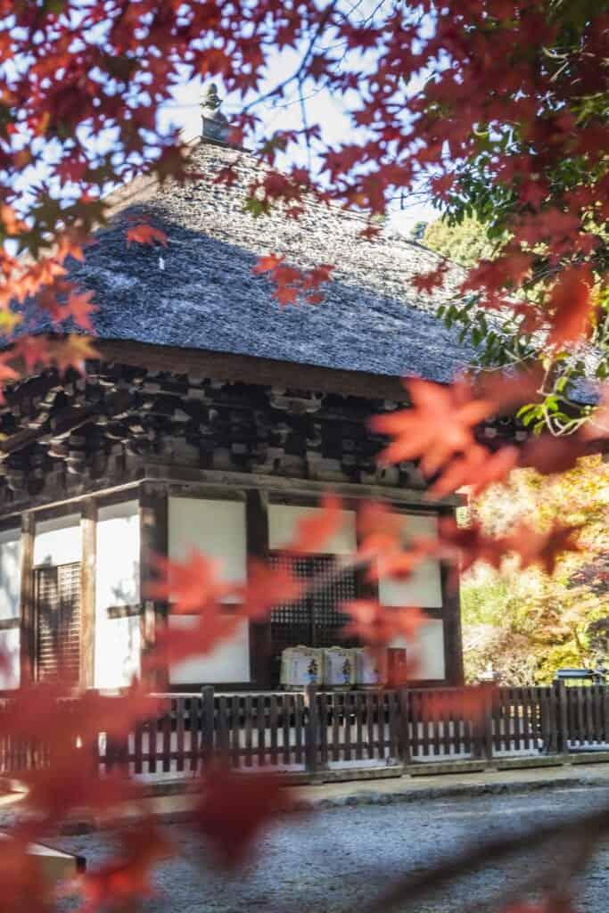 Tatekake-no-no dans le temple de Kanshinji