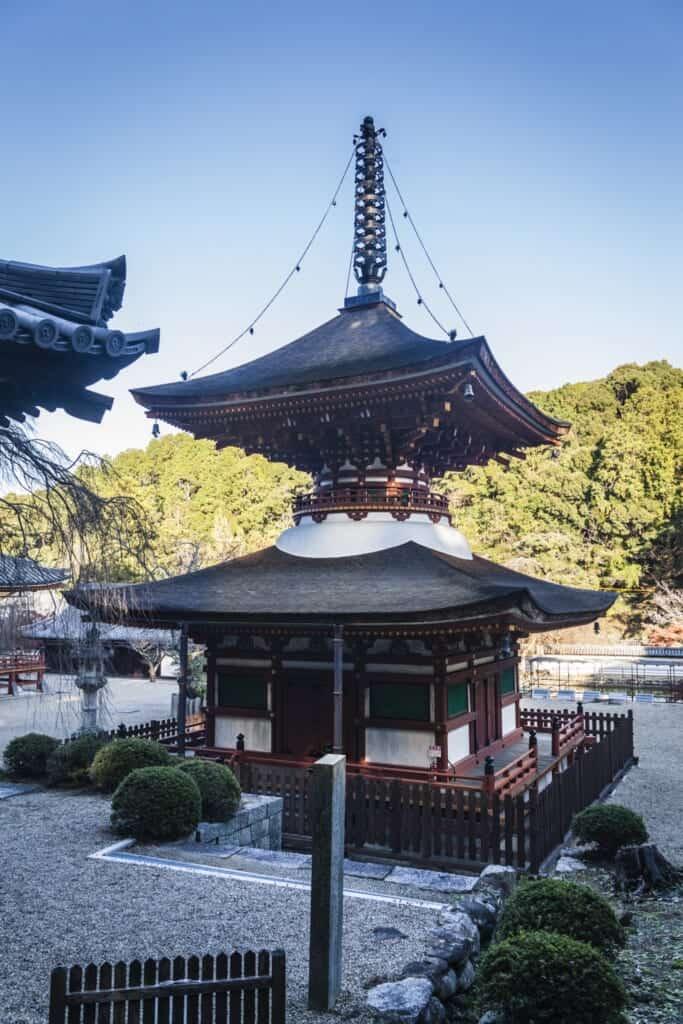 La pagode du temple de Kongoji