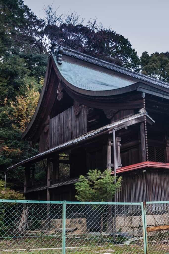 le sanctuaire de Tamadeyorimatsuri