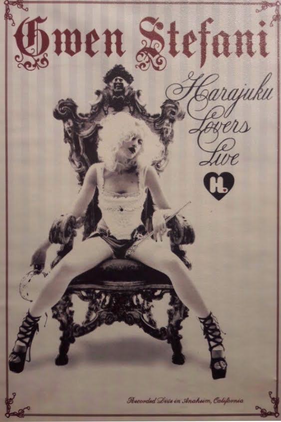 Couverture du DVD de Gwen Stefani