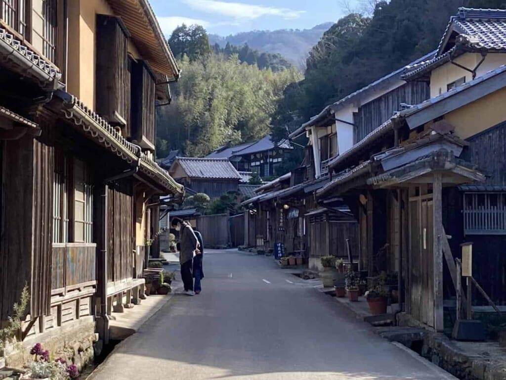 Omori dans la préfecture de Shimane