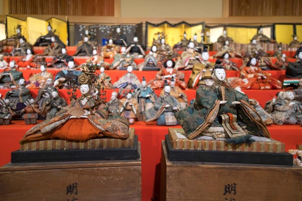Le Hina Matsuri est célébré chaque année le 3 mars en l'honneur des petites filles