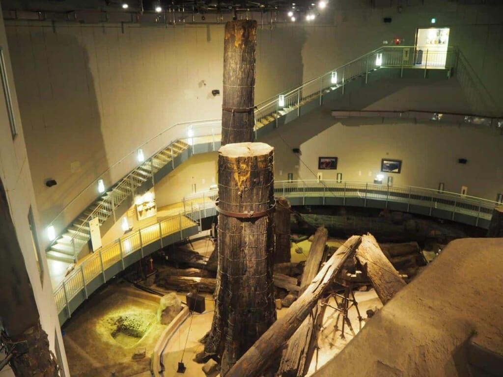 préfecture de shimane : Le Musée de la forêt ensevelie de Sanbe Azukihara