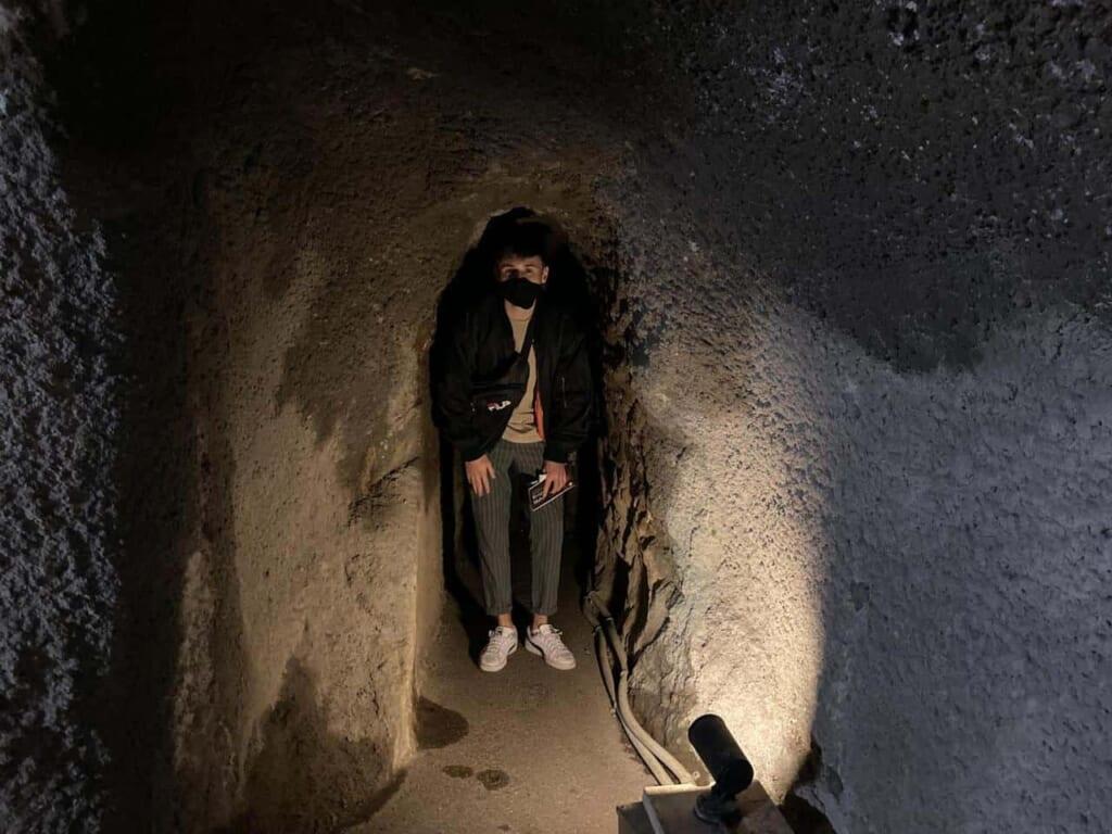 la mine Ryugenji Mabu et son tunnel historique de la préfecture de shimane