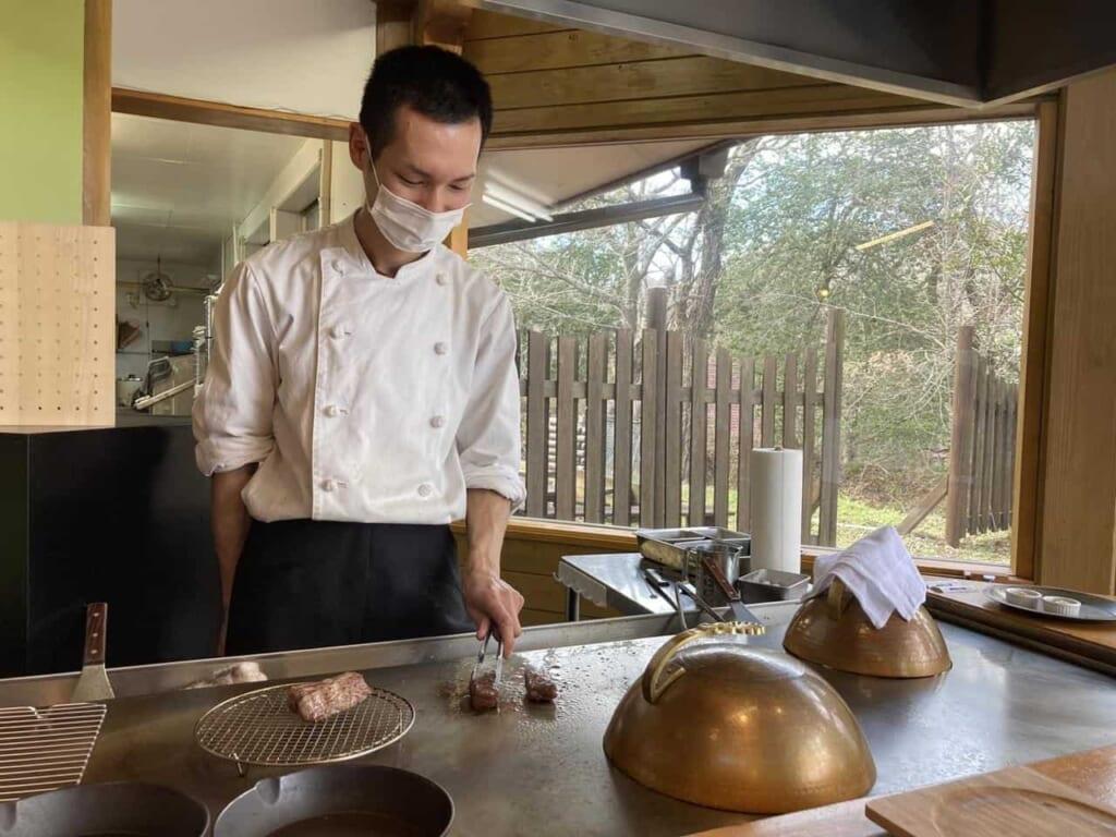 Kamuri, un restaurant de grill teppanyaki première classe
