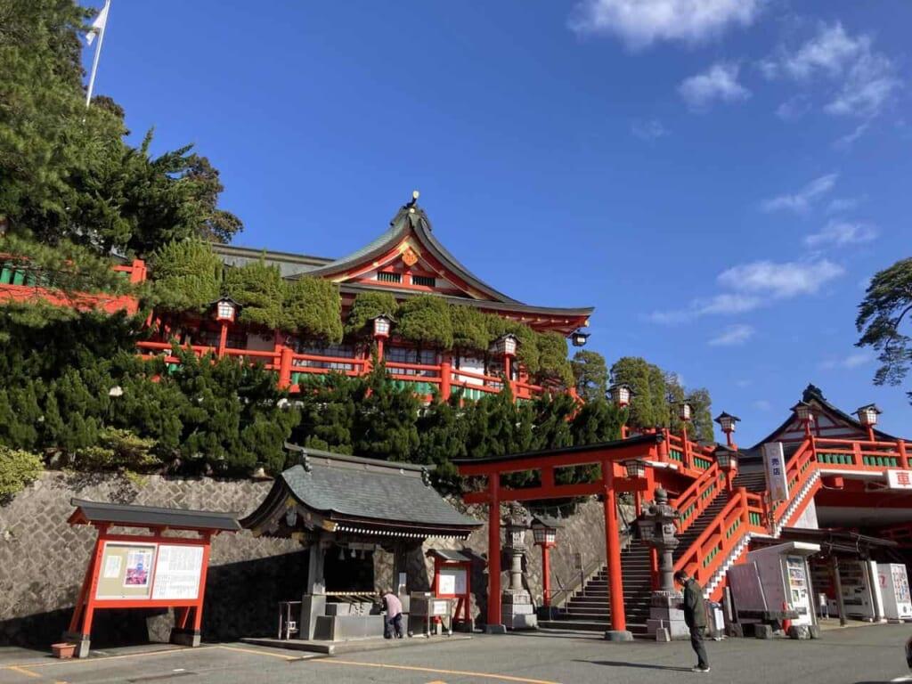 Le sanctuaire Taikodani Inari dans la préfecture de Shimane