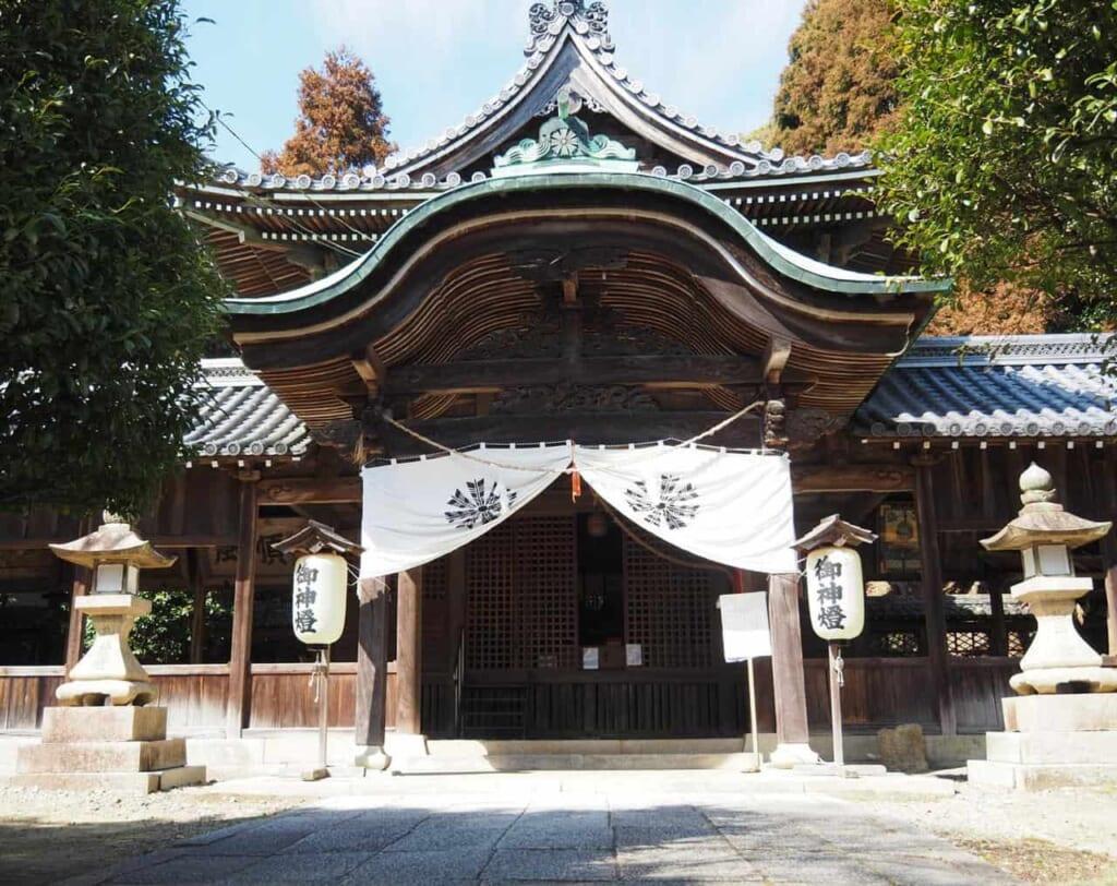le sanctuaire Osake