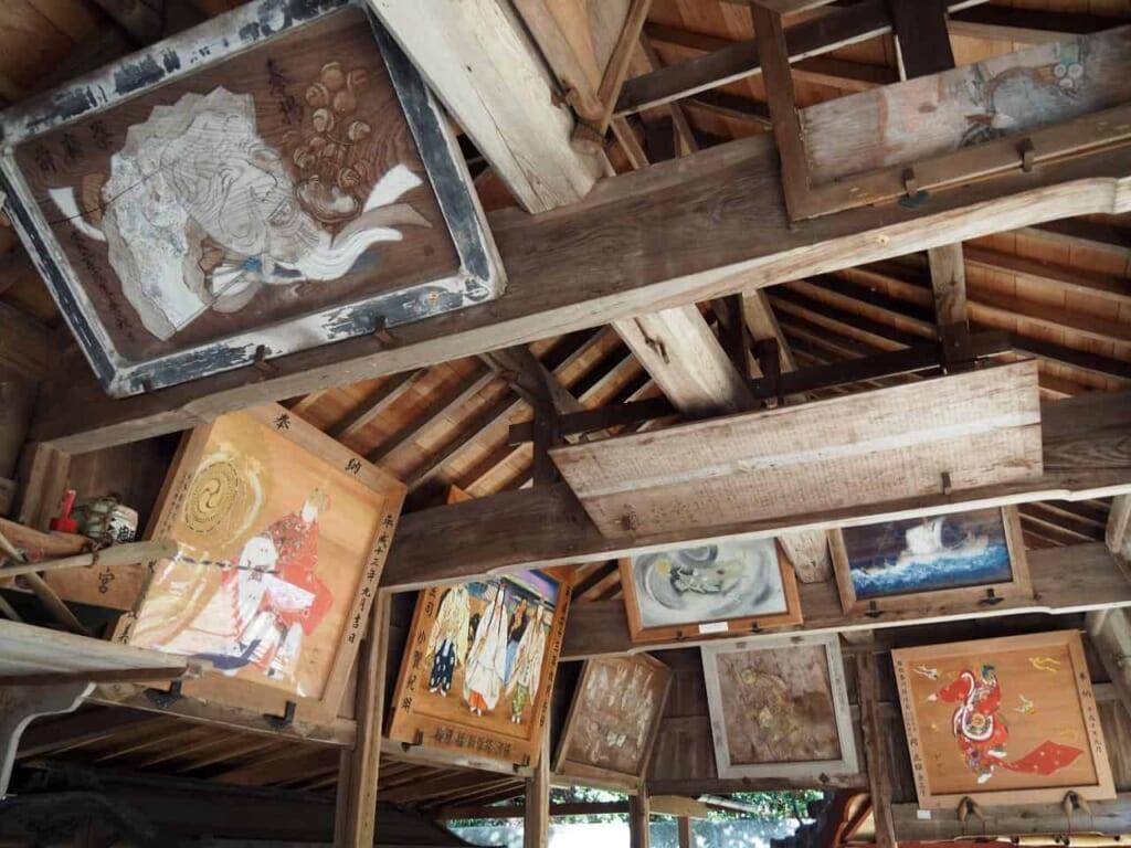 hall principal du sanctuaire Osake