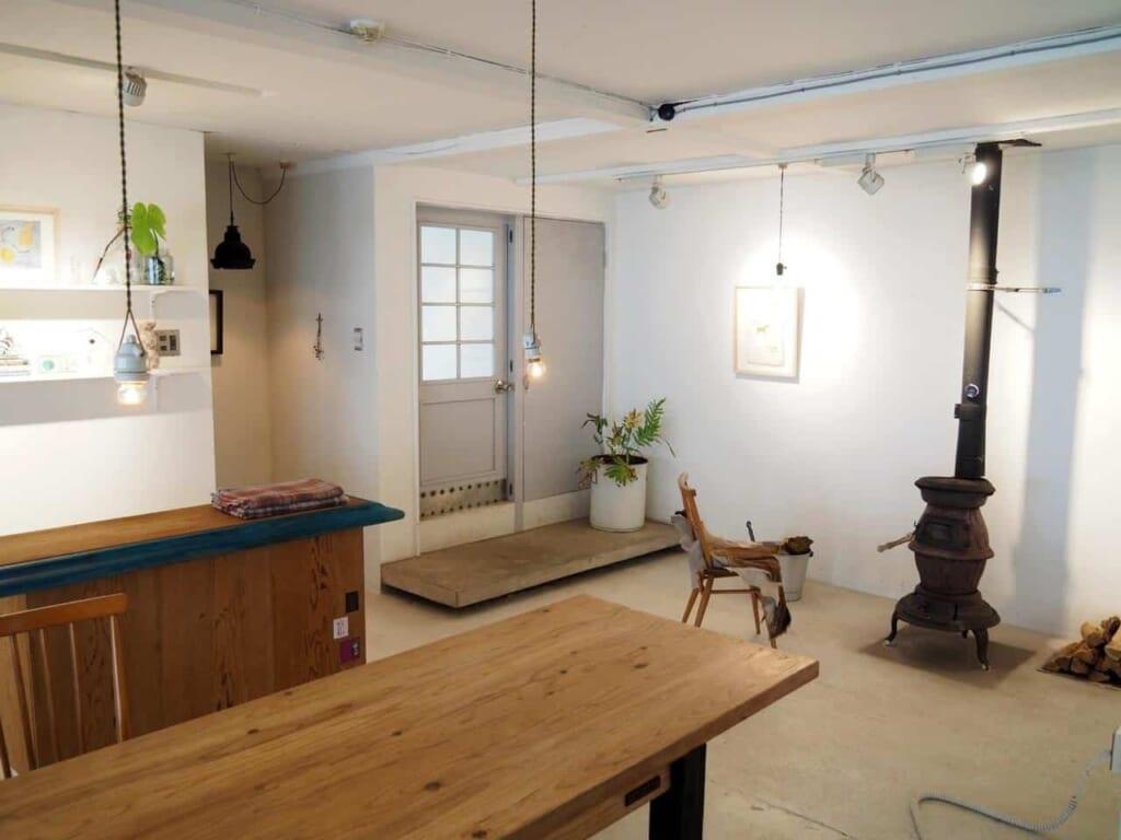 salon commun au premier étage d'Imaiso