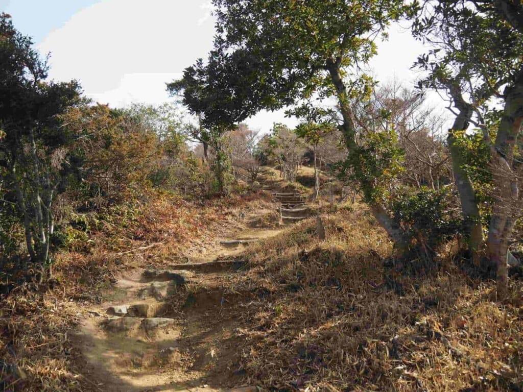 chemin de randonnée jusqu'à Otakadaiyama