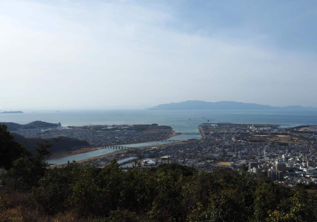 vue depuis Otakadaiyama