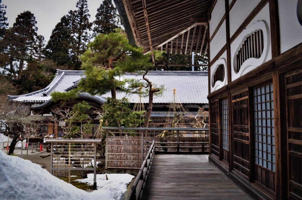 Le Hondô, au cœur du Chûson-ji