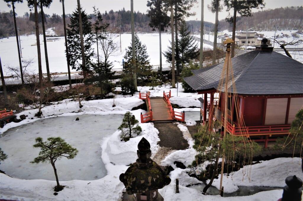 Vue depuis le Takkoku no Iwaya