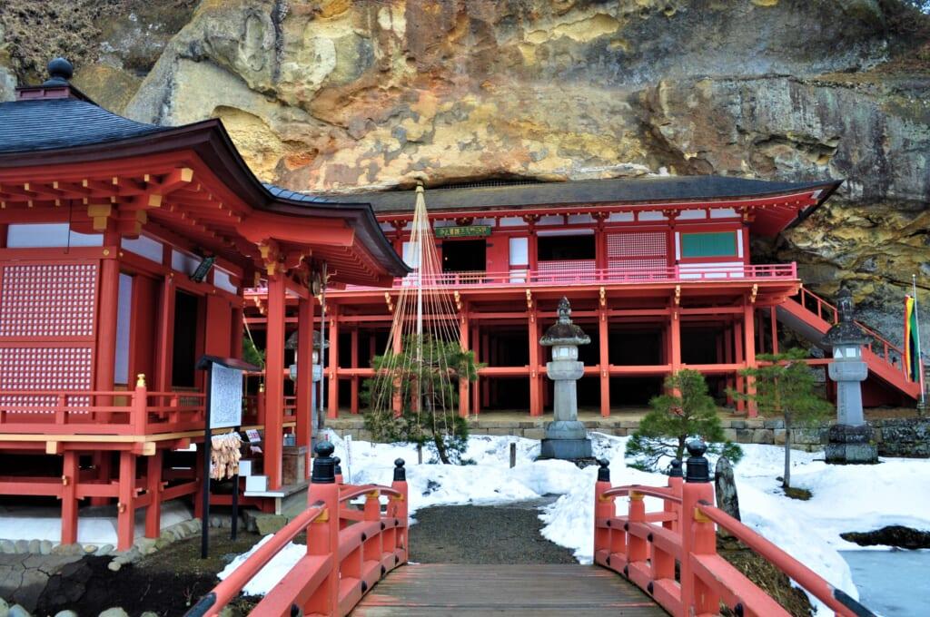 le Takkoku no Iwaya depuis son pont