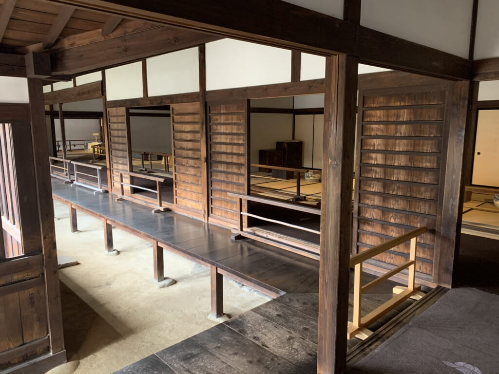bâtiment administratif japonais de l'époque Edo