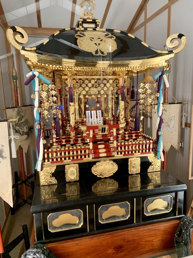 mikoshi utilisé lors des matsuri de Takayama