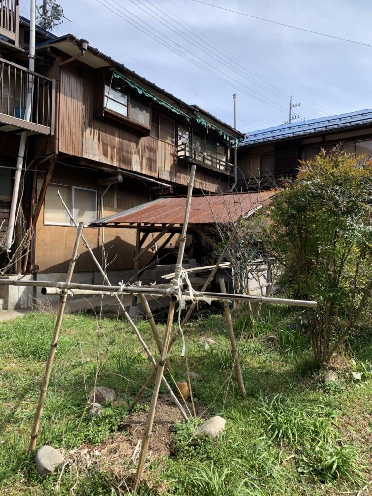 maisons japonaises du quartier de Hida Kanayama