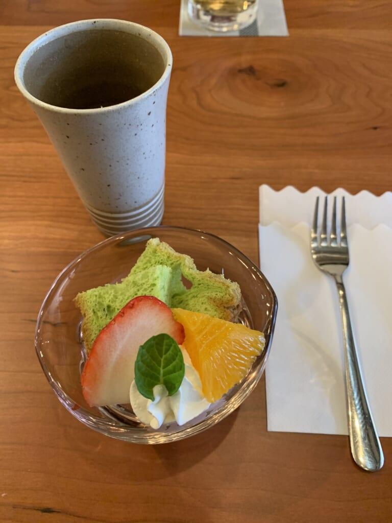 accompagnement d'un plat de wagyu à Hida
