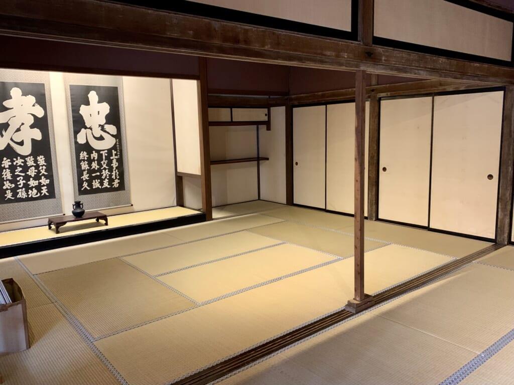 ancienne salle d'audiance du shogunat de l'époque edo