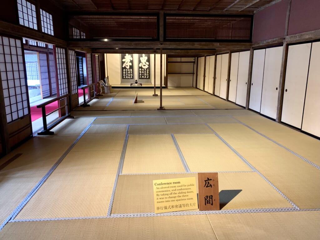 salle d'audience de takayama jinya à Hida