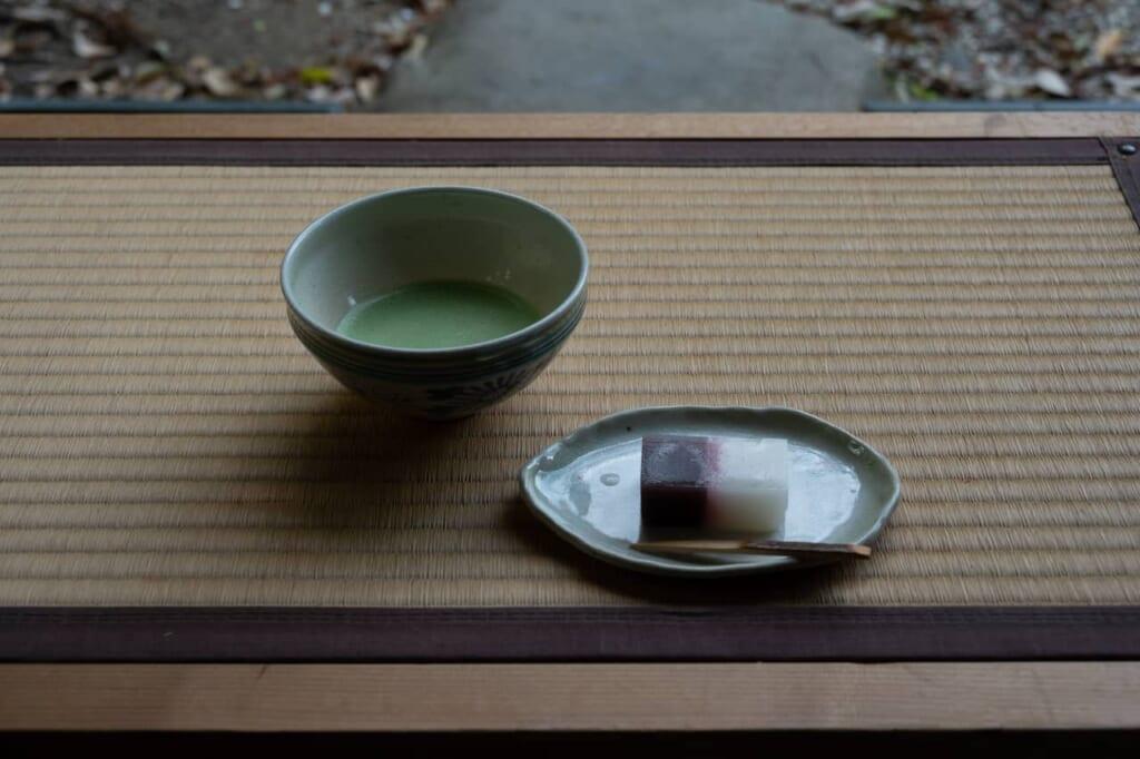 Cérémonie du thé à Shointei