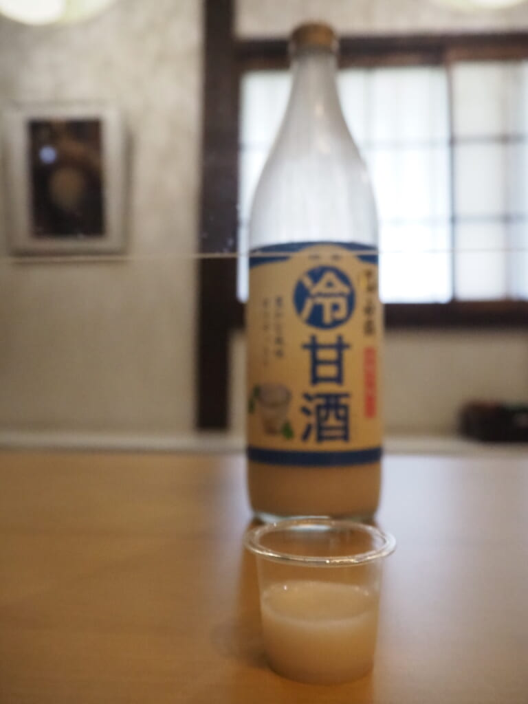 Amazake froid 冷やし甘酒 瓶入り