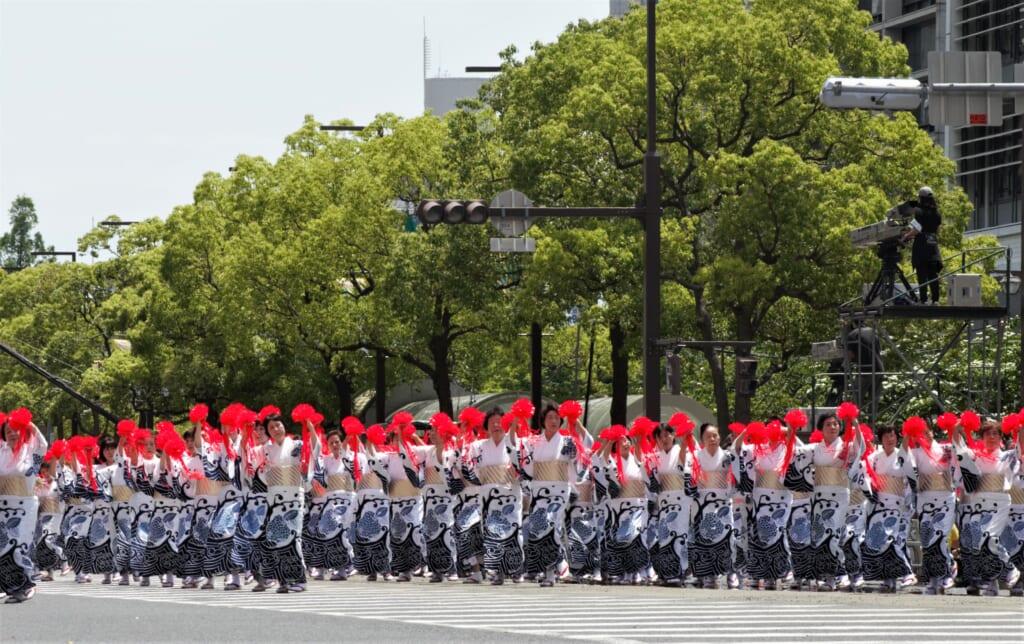 Kobe Samba Festival - Ouverture de la parade