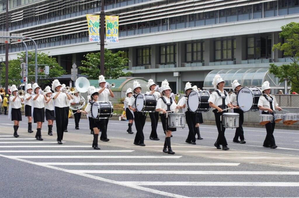 Kobe Samba Festival - Parade musicale