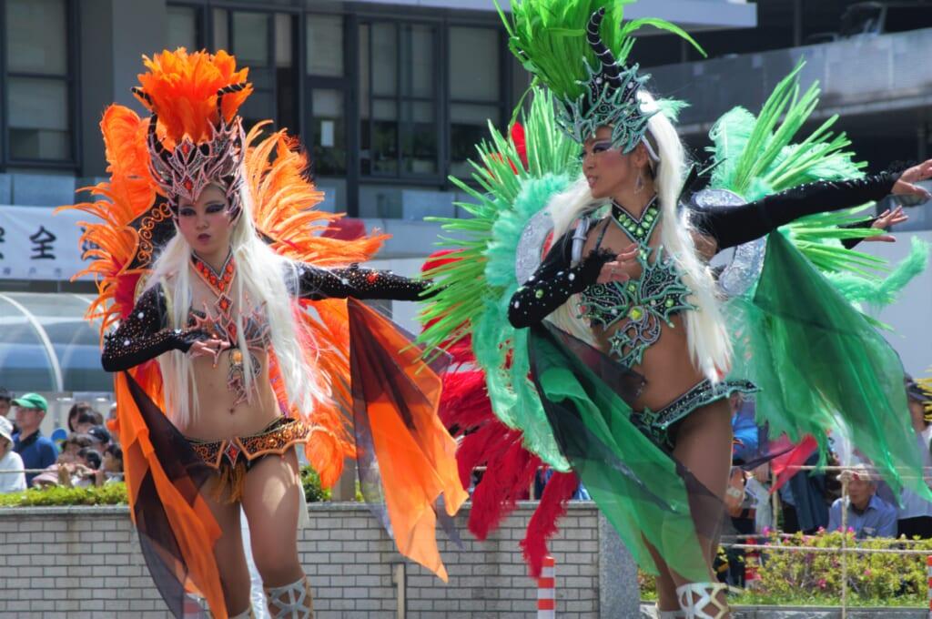 Kobe Samba Festival - la danse au rythme de Rio !