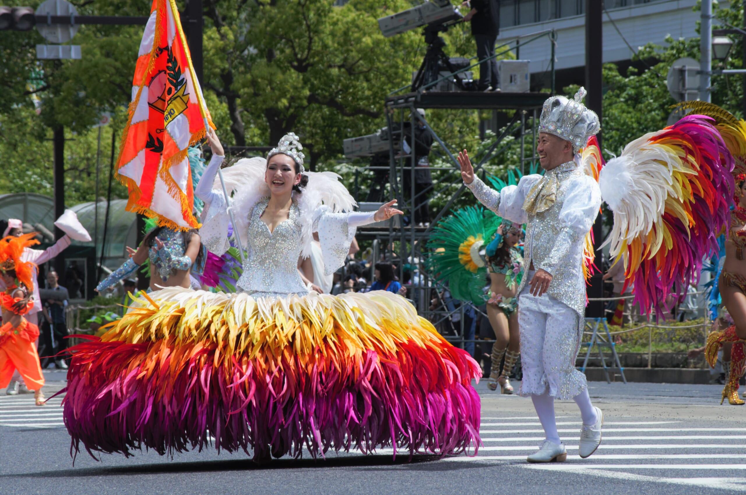 Le Kobe Samba Festival, un rendez-vous de la communauté nippo-brésilienne