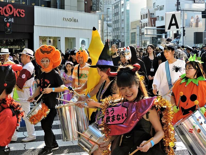 Hello Halloween Pumpkin Parade à Harajuku