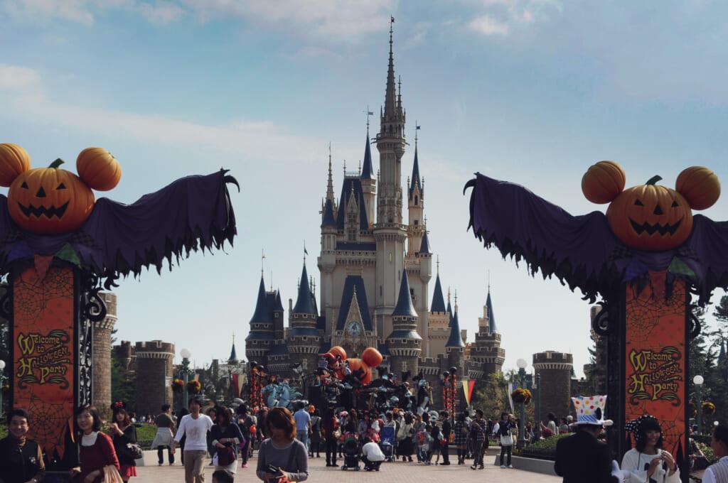 L'influence de Disney a été déterminante pour faire d'Halloween une tradition japonaise