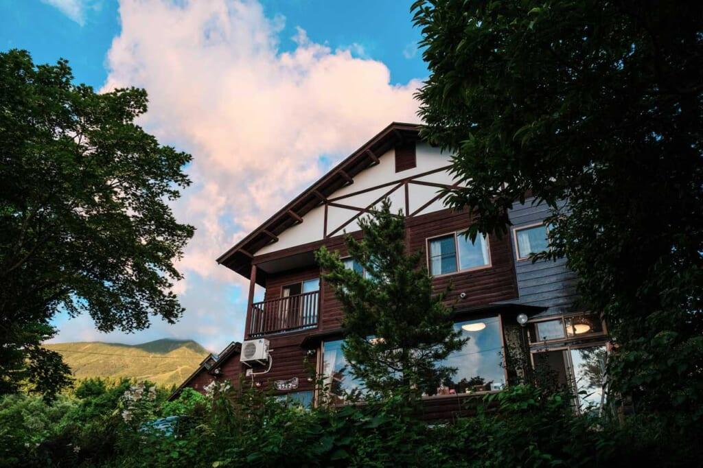 Auberge de montagne à Semboku, Akita, Japon