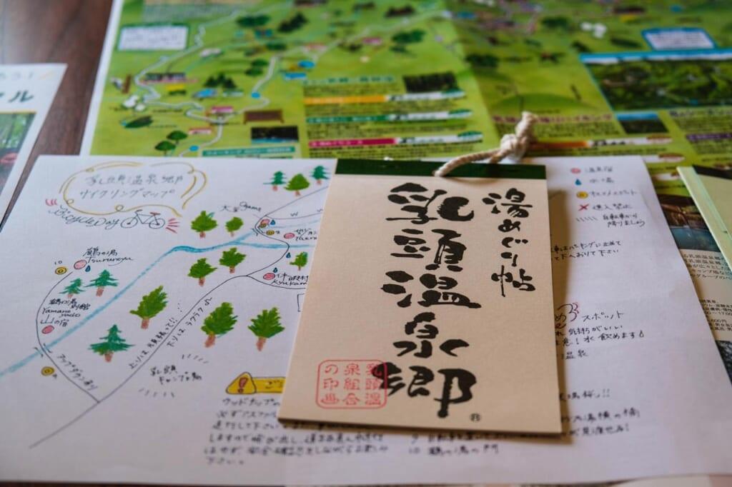 Carnet Yumeguri de Nyuto Onsen