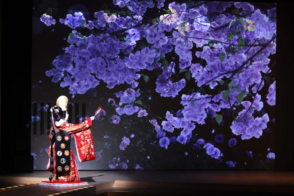 scène de kabuki