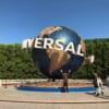 Planète Universal Studios à l'entrée du parc au Japon