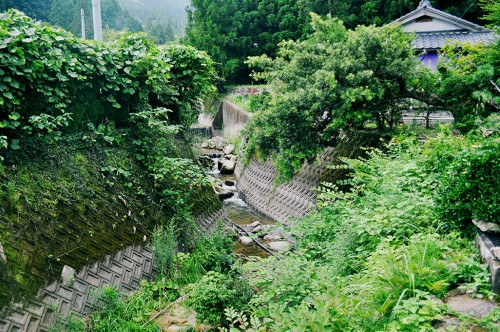 Riachuelo en Nachi, plato fuerte del Kumano Kodo.