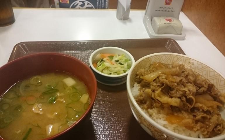 gyudon restaurante japón